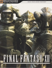 Final Fantasy XII - BradyGames Limited Edition Guide Box Art