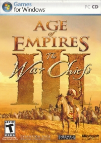 Age of Empires III: The War Chiefs Box Art