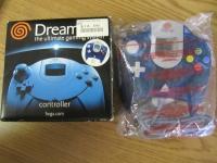 Sega Controller (Blue) Box Art