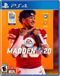 Madden NFL 20 Box Art