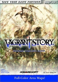 Vagrant Story - Official Strategy Guide Box Art