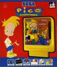 Professor Pico and the Paintbox Puzzle Box Art