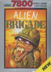Alien Brigade Box Art
