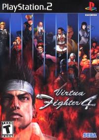 Virtua Fighter 4 Box Art