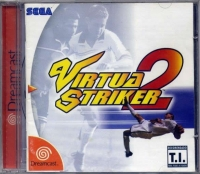 Virtua Striker 2 Box Art