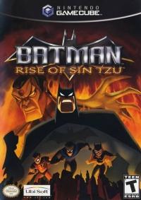 Batman: Rise of Sin Tzu Box Art