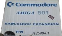 Commodore Amiga 501 RAM/Clock Expansion Box Art
