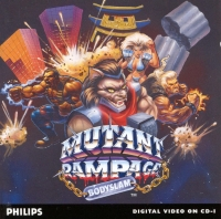 Mutant Rampage: Bodyslam Box Art