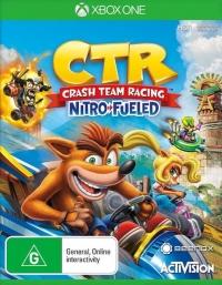 Crash Tag Team Racing: Nitro Fueled Box Art