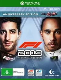 F1 2019 - Anniversary Edition Box Art