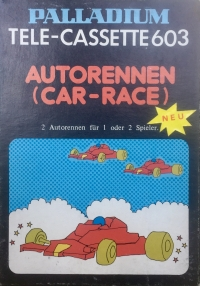 Palladium Tele-Cassette 603 Autorennen (Car-Race) Box Art