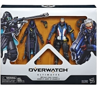 Overwatch Ultimates Soldier 76 and Shrike Ana Set Box Art
