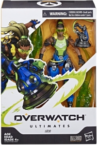 Overwatch Ultimates Lucio Box Art