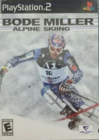 Bode Miller Alpine Skiing (silver disc) Box Art