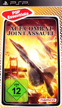 Ace Combat: Joint Assault - PSP Essentials [DE] Box Art