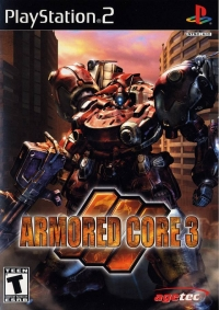 Armored Core 3 Box Art
