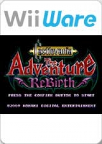 Castlevania: The Adventure ReBirth Box Art