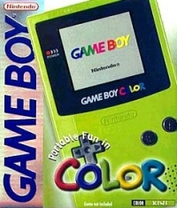 Nintendo Game Boy Color - Kiwi [NA] Box Art