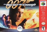 007: The World Is Not Enough (grey cartridge) Box Art