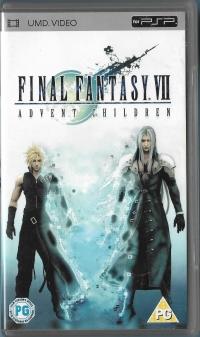 Final Fantasy VII: Advent Children [UK] Box Art