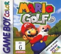 Mario Golf Box Art