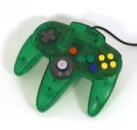Nintendo 64 Controller - Jungle Green Box Art