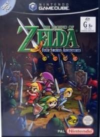 Legend of Zelda, The: Four Swords Adventures Box Art