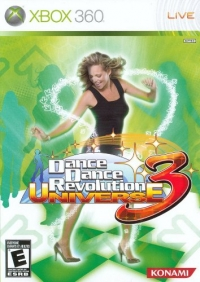 Dance Dance Revolution Universe 3 Box Art