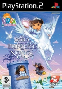 DORA SAUVE LA PRINCESSE DES NEIGES Box Art