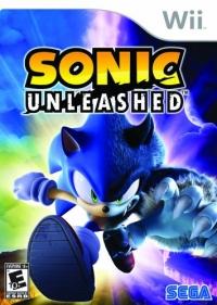 Sonic Unleashed Box Art