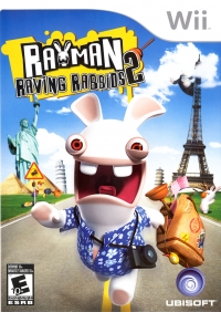Rayman Raving Rabbids 2 (art disc) [CA] Box Art