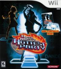 Dance Dance Revolution: Hottest Party (Game & Controller) Box Art