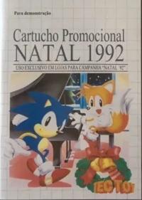 Cartucho Promocional Natal 1992 Box Art