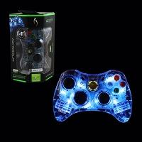 Xbox 360 Blue Afterglow Controller Box Art