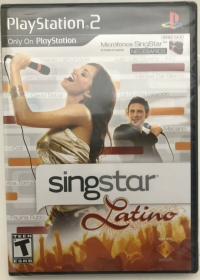 SingStar Latino Box Art
