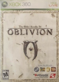 Elder Scrolls IV, The: Oblivion (ESRB M) Box Art