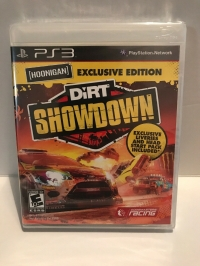 DiRT Showdown - Hoonigan Exclusive Edition Box Art