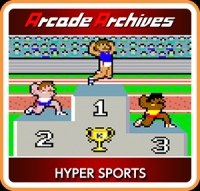 Arcade Archives Hyper Sports Box Art