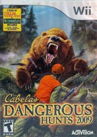 Cabela's Dangerous Hunts 2009 Box Art