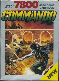 Commando Box Art