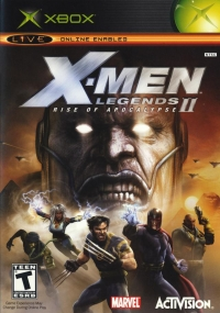 X-Men Legends II: Rise of Apocalypse Box Art
