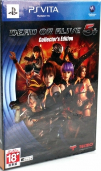 Dead or Alive 5+ - Collector's Edition Box Art