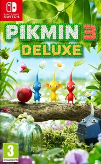 Pikmin 3 Deluxe Box Art