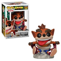 Funko POP! Games: Crash Bandicoot - Crash Spinning Box Art