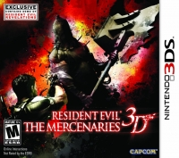 Resident Evil: The Mercenaries 3D Box Art