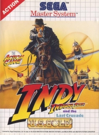 Indiana Jones and the Last Crusade Box Art