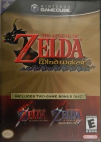 Legend of Zelda, The: The Wind Waker / Ocarina of Time / Master Quest Box Art