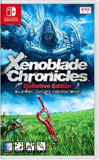 Xenoblade Chronicles - Definitive Edition Box Art