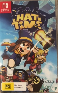 Hat in Time, A Box Art