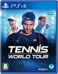 Tennis World Tour Box Art